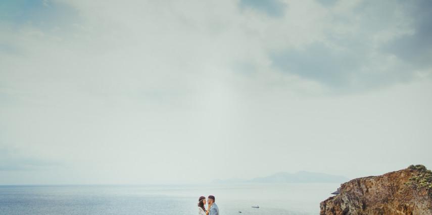 Veronica & Nicolò - sposi a Panarea